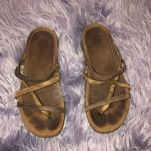 Women's Brown Chaco Straps Sandals Size 7